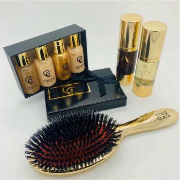 Gold Class Argan Gold Hair & Body Home Treatments Kit