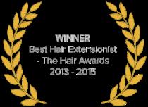 Inanch - Best hair extensionist 2013-2015