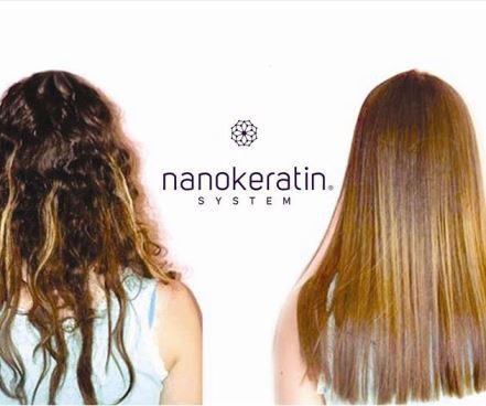 Nanokeratin Smoothening Treatment