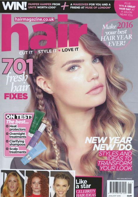 Hair Magazine - January 2016 - Cover