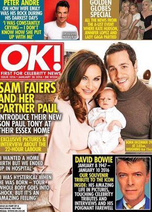 OK! Magazine - January 2016 - Cover image