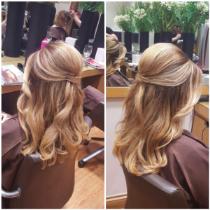 Bridal Hair by Vessy