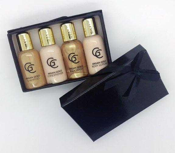 Inanch London - Gold Class - Argan Hair & Body Gift Set